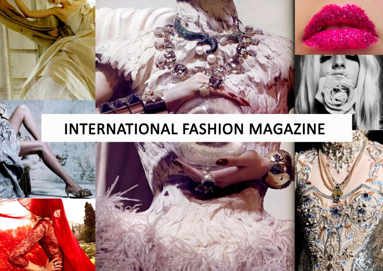 INTERNATIONAL FASHION MAGAZINE COVER